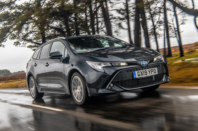 Toyota Corolla Touring Sports 2019 road test review - hero front