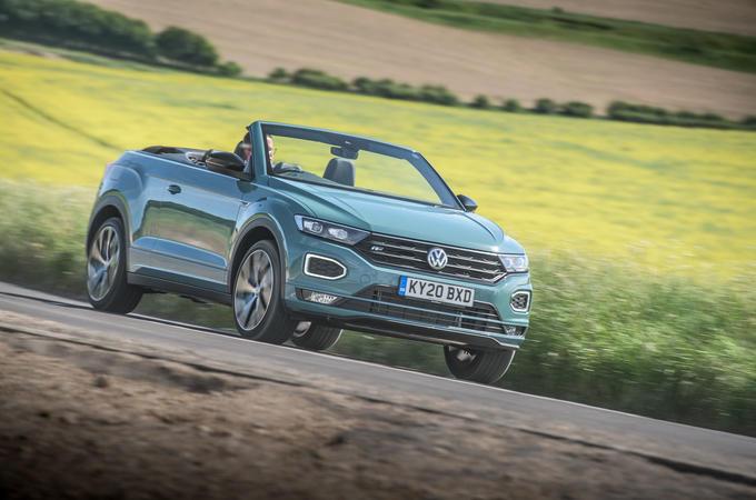 Volkswagen T-Roc Cabriolet 2020 road test review - hero front