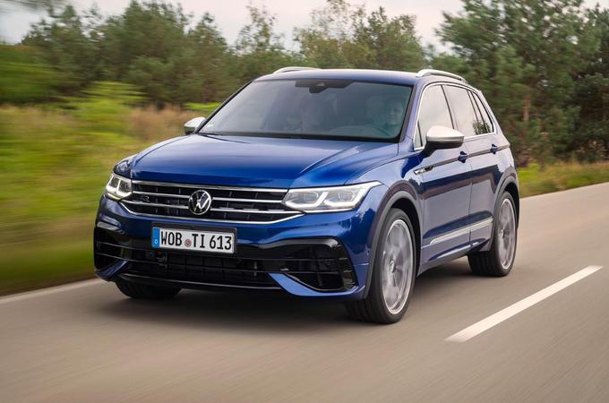 Volkswagen Tiguan R road test review - hero front