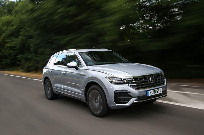 Volkswagen Touareg 2018 road test review hero front
