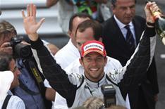 Button wins Monaco Grand Prix