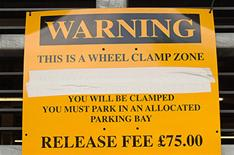 Clampdown on clampers