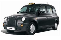 London cabs in China