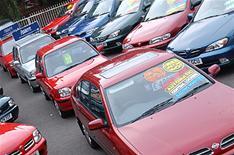 Used car sales crash in 2008
