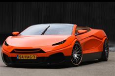 Bewerp's four-door supercar