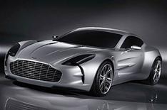 Aston One-77 in detail