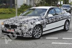 Next BMW 5-series spied