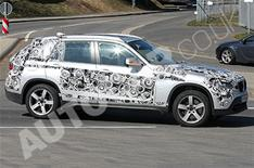 New BMW X1 caught testing
