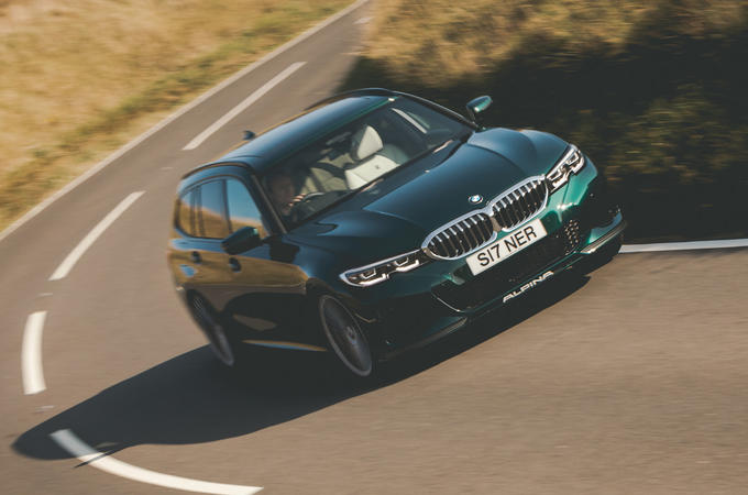 Alpina B3 Touring 2020 UK first drive review - hero front