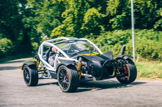 Ariel Nomad R 2020 UK first drive review - hero front