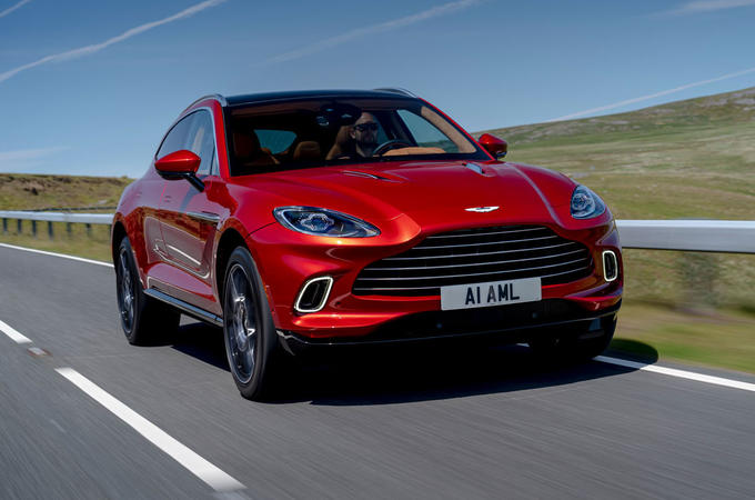 Aston Martin DBX 2020 UK first drive review - hero front