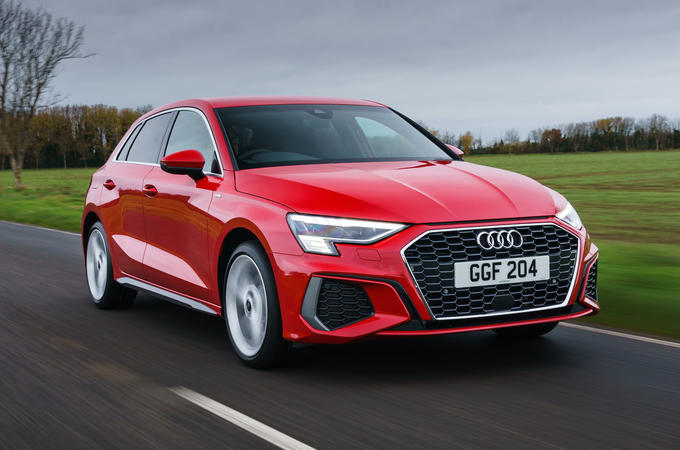 Audi A3 TFSIe 2020 UK first drive review - hero front