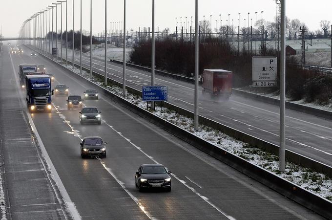 Belgium motorway