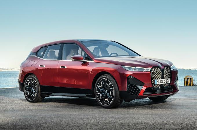 BMW iX - front
