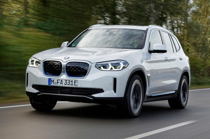 BMW iX3 2020 first drive review - hero front