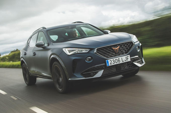 Cupra Formentor 2020 UK first drive review - hero front
