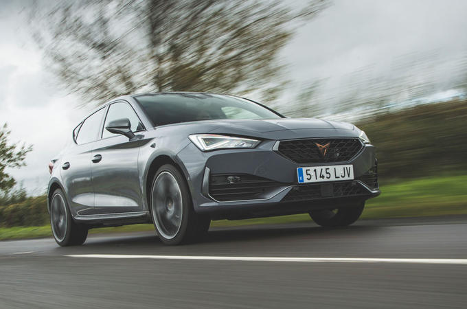 Cupra Leon 2020 LHD UK first drive review - hero front