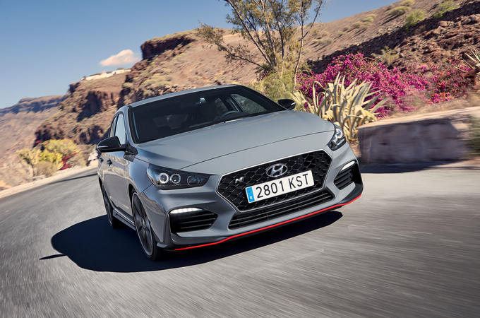 Hyundai i30 Fastback N 2019 first drive review - hero front