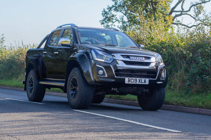 Isuzu D-Max Arctic Trucks 2020 UK first drive review - hero front