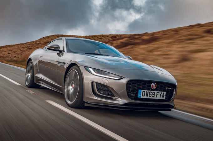 Jaguar F-Type 2020 UK first drive review - hero front
