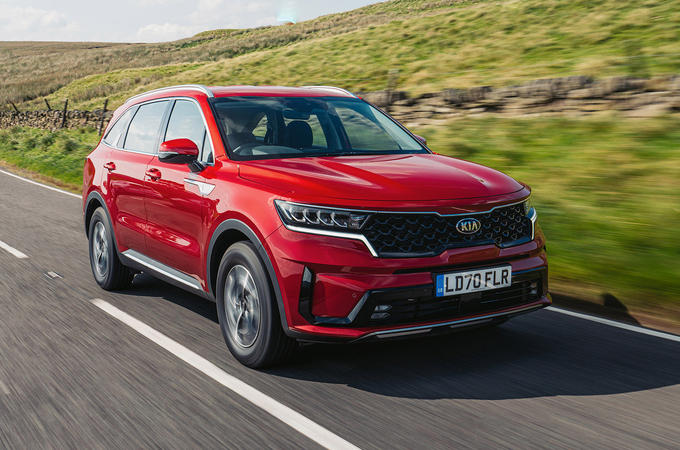 Kia Sorento hybrid 2020 UK first drive review - hero front