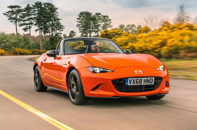 Mazda MX-5 30th Anniversary Edition 2019 UK first drive review - hero front