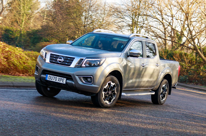 Nissan Navara 2020 UK first drive review - hero front