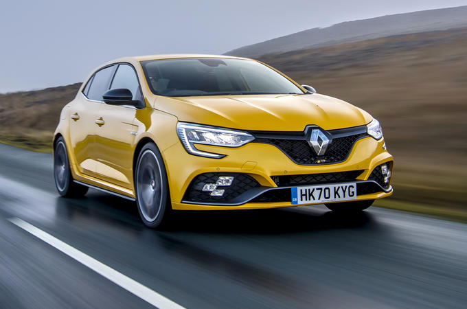 1 Renault Megane RS 300 Trophy 2021 UK first drive review hero front