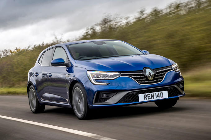 Renault Megane Sport 2020 UK first drive review - hero front