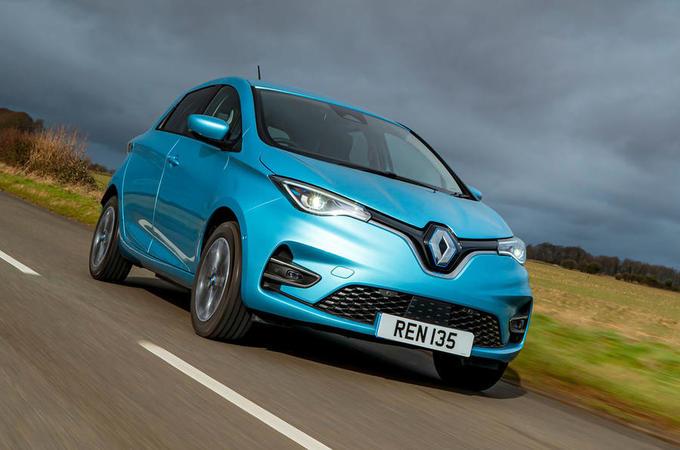 2020 Renault Zoe - hero front