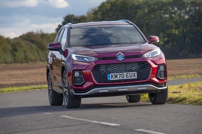 Suzuki Across Hybrid 2020 UK first drive review - hero front