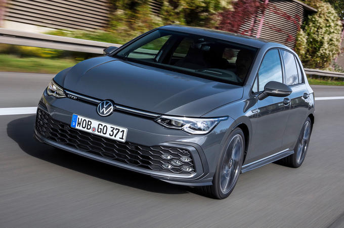 Volkswagen Golf GTD 2020 first drive review - hero front
