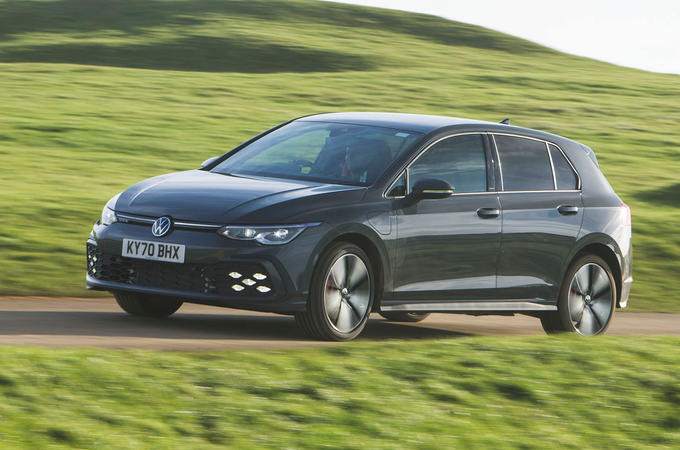 Volkswagen Golf GTE 2020 UK first drive review - hero front