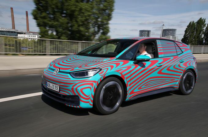 Volkswagen ID 3 2020 prototype review - hero front