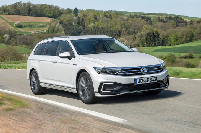 Volkswagen Passat GTE Estate 2019 first drive review - hero front