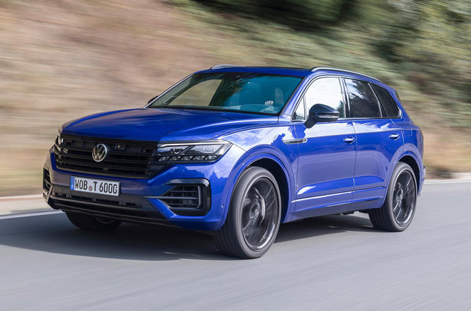 Volkswagen Touareg R 2020 first drive review - hero front