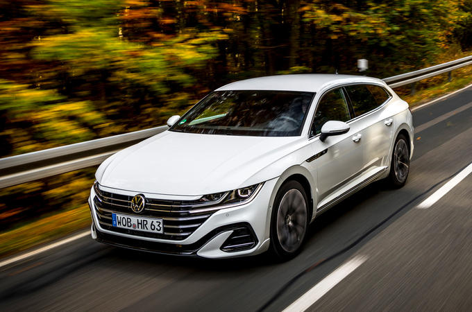 Volkswagen Arteon Shooting Brake eHybrid 2020 first drive review - hero front