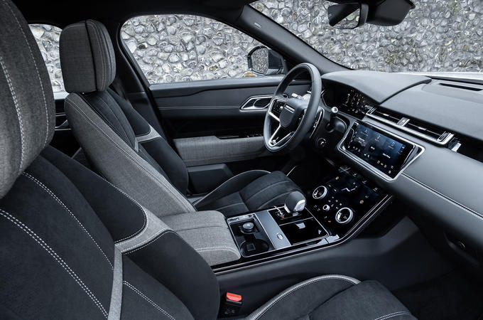 Jaguar Land Rover interior
