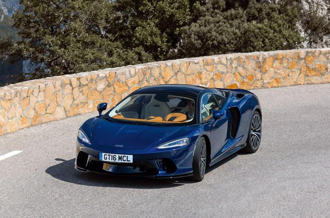 McLaren GT - hero front