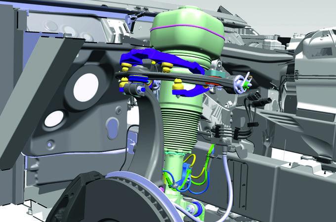 Planar suspension system
