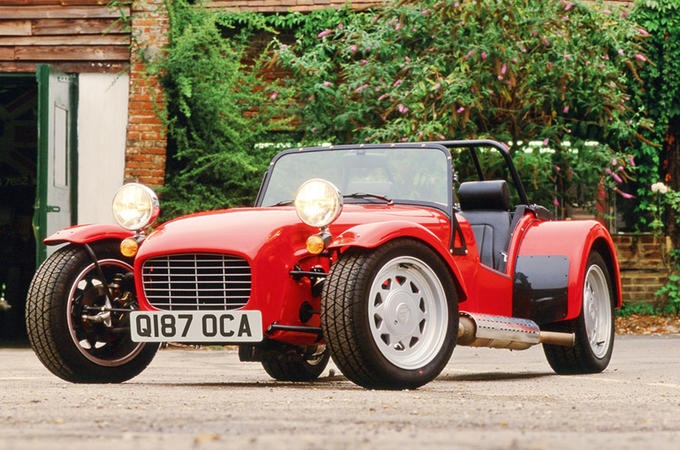 Q-plate kit car - static front