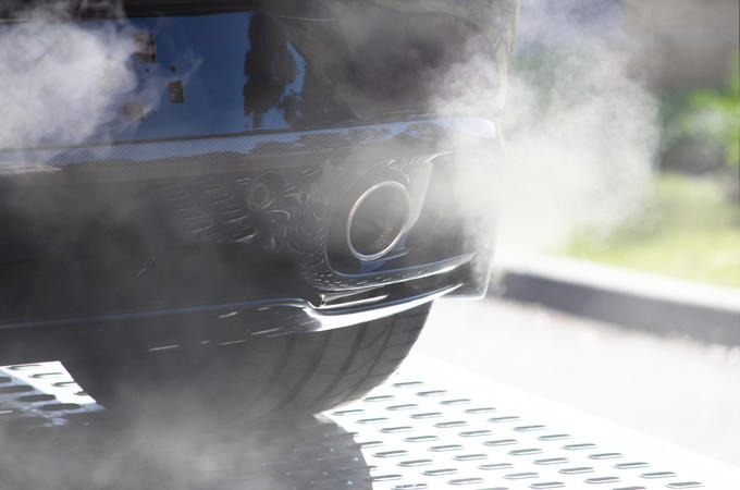 Smog emissions fumes