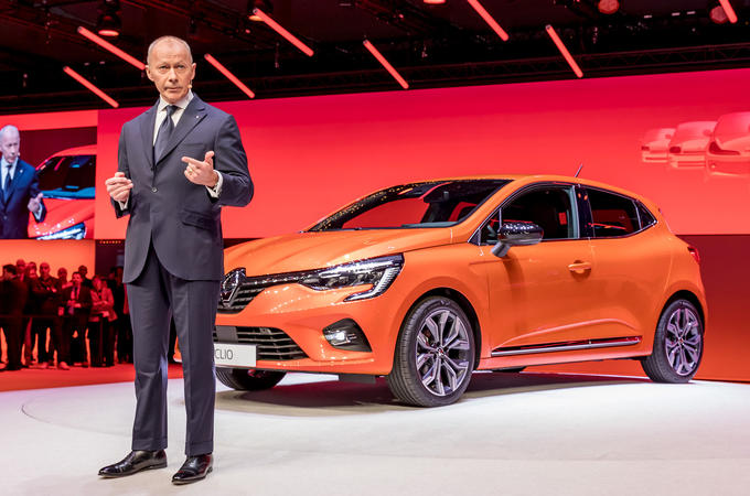 Thierry Bollore reveals new Renault Clio, 2019