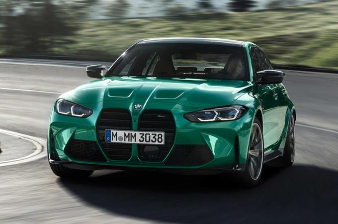 BMW M3 - front