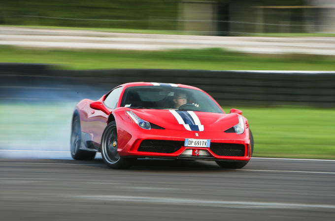 Ferrari 458 Speciale - front