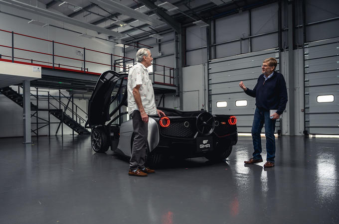 Gordon Murray T50 official reveal - talking to Steve Cropley