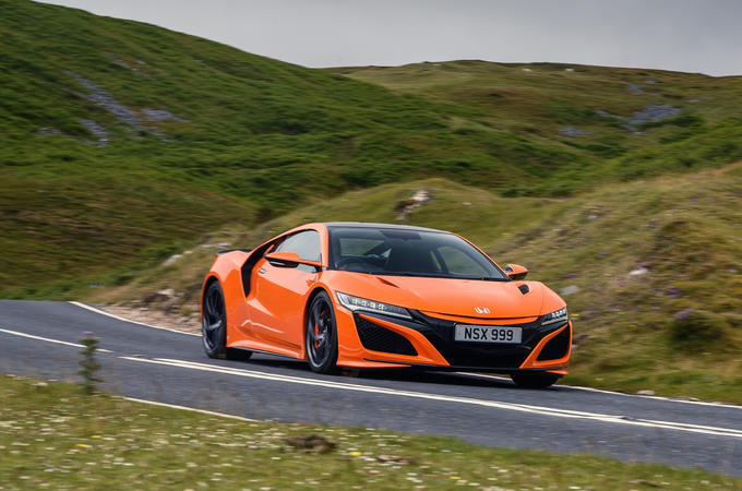 Honda NSX hybrid supercar feature - hero front