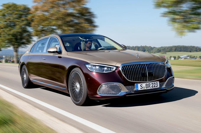 2021 Mercedes-Maybach S-Class official images - hero front