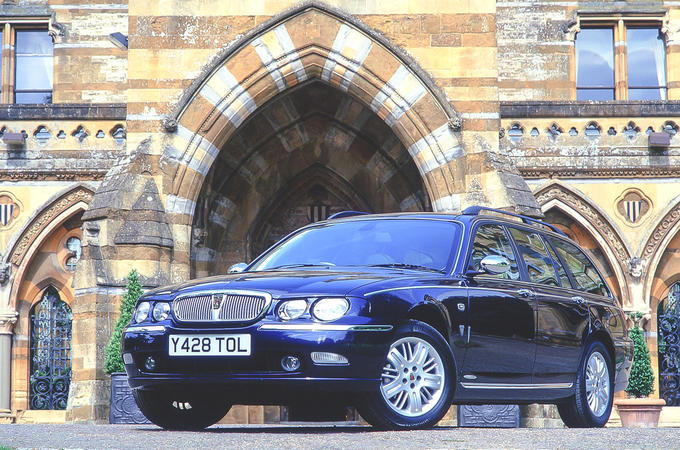 5500 road tests and counting - Rover 75 lead