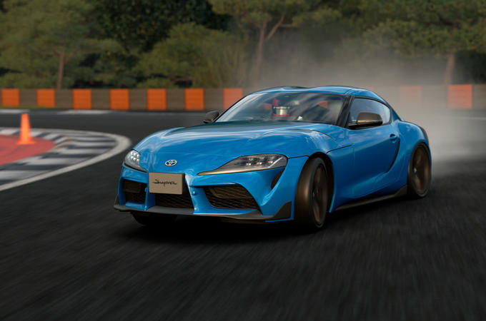 Toyota Supra simulator road test - lead